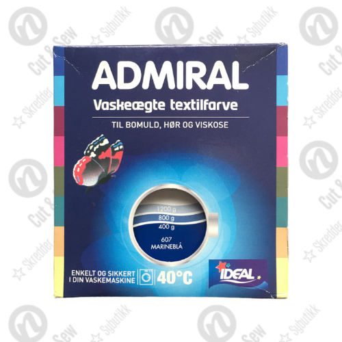 Admiral Tekstilfarge - Marineblå