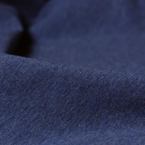 Stretch Jersey Blå Melert